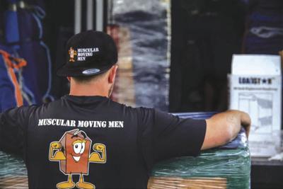 Muscular Moving Men & Storage