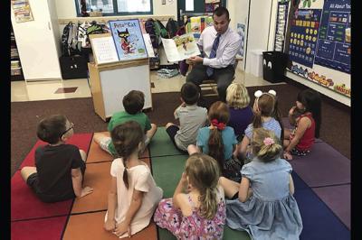 Horseshoe Trails Elementary School Principal Aaron Pettinato