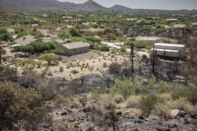 wildfires defensible space