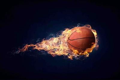 Basketball game concept