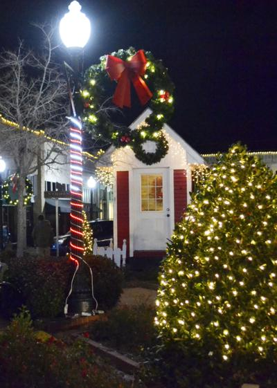 Christmas downtown