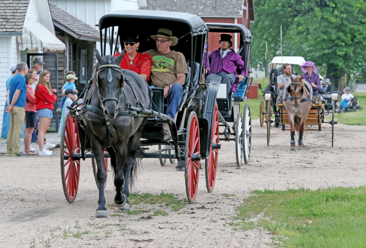 Horses, carriages on display at Stuhr Museum event Saturday
