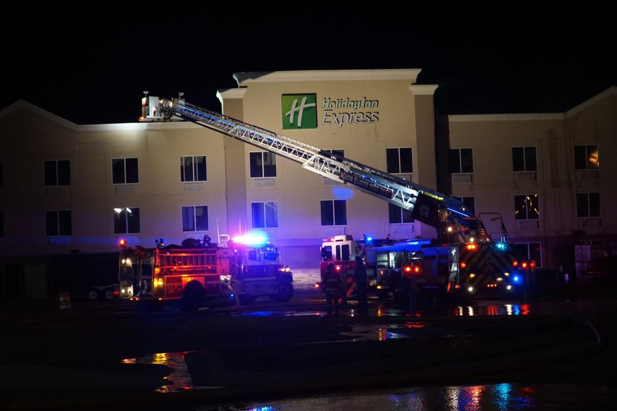 Fire At North Platte Holiday Inn Express