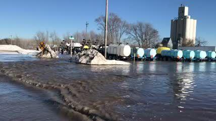Flooding In Nickerson Nebraska Statenews