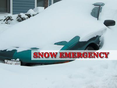 FILE PHOTO: Snow emergency