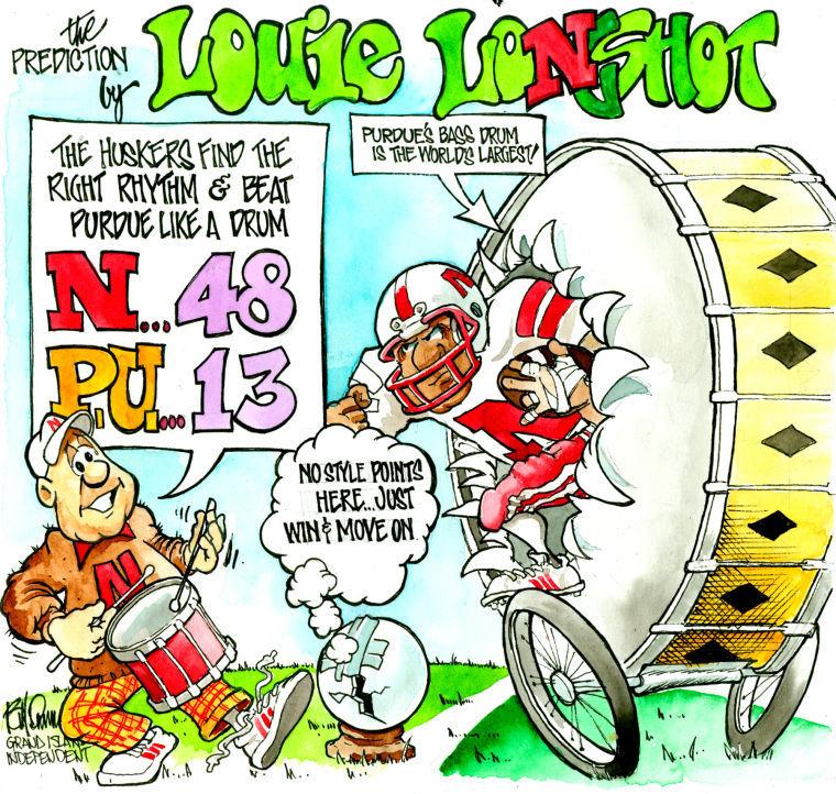 Louie Longshot: Nebraska-Purdue