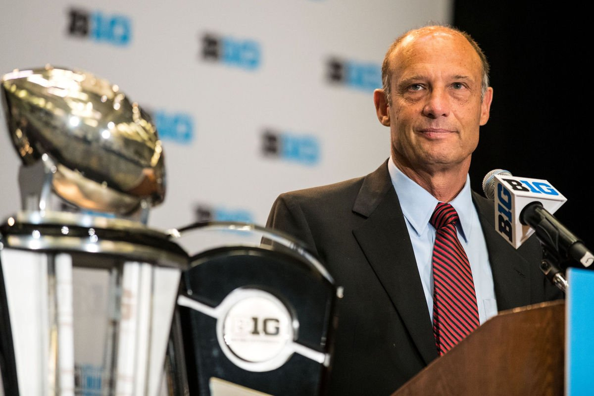 Big Ten Media Days: Riley takes the podium in Chicago