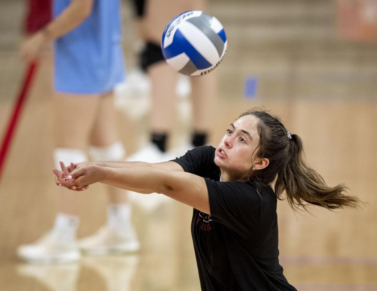 Nebraska Volleyball Camp, 7.10