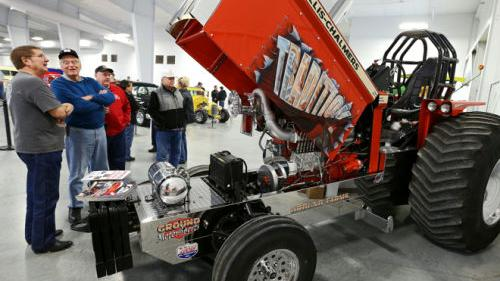 Modified 1966 Allis Chalmers D21 puller tractor | Local News