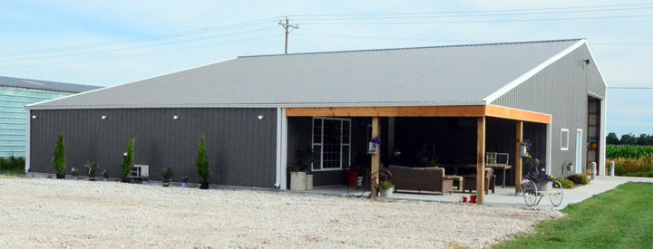Man Cave Nicknames : 'the barn an affectionate nickname for martins man cave