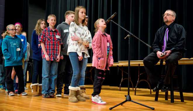 Rosenlund learns practice makes perfect at spelling bee