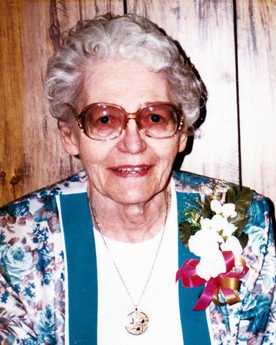 Bertha 'Betty' Wrehe, 96