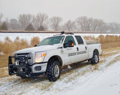Nebraska State Patrol truck