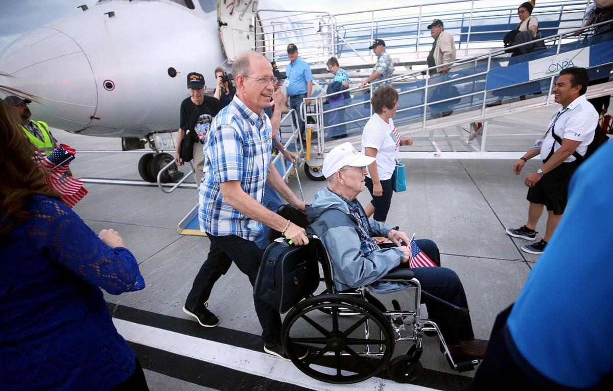 Veterans get a hero's welcome