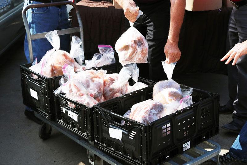 Aksarben donated chickens