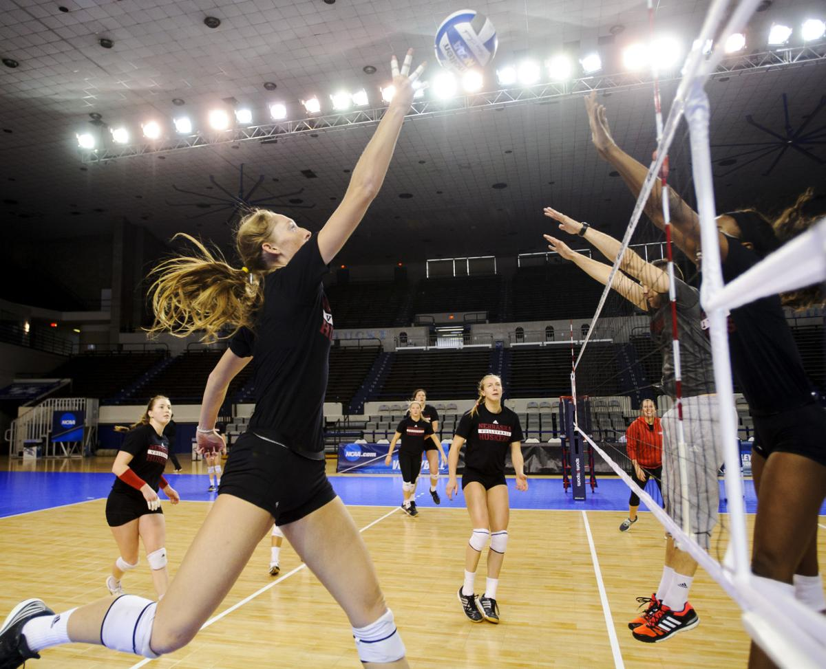 NCAA Regional Volleyball Practice