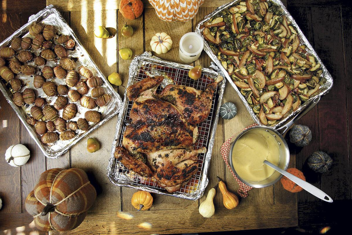 Still Planning Your Holiday Meal Leep It Simple Cook Everything On Basic Wiring To Detached Garage The Journal Board Using Three Sheet Pans And One Saucepan Cant Forget Gravy You Can Put Out A Serving Eight 12 Guests In Just Under Four Hours