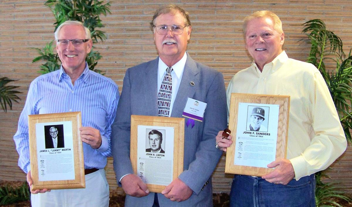 Hall of Honor - Lanny Martin, John Linton, and John Sanders2.JPG
