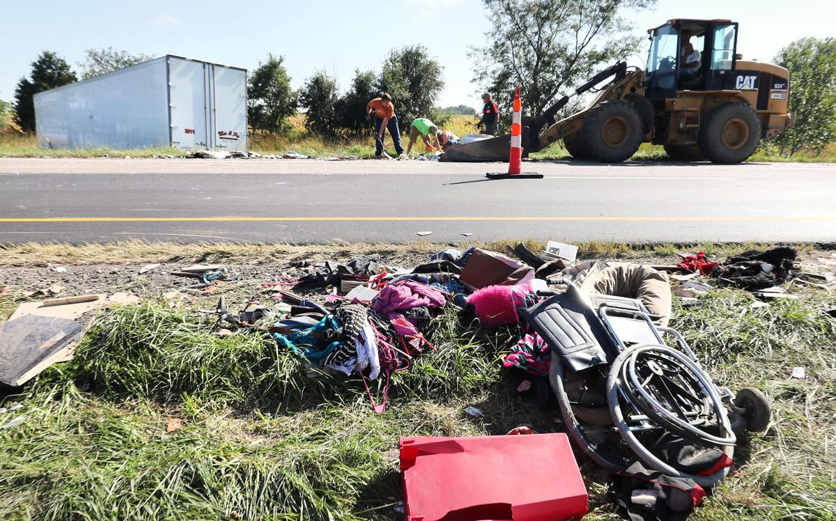 Chain reaction accident on I-80 Wednesday afternoon | Local