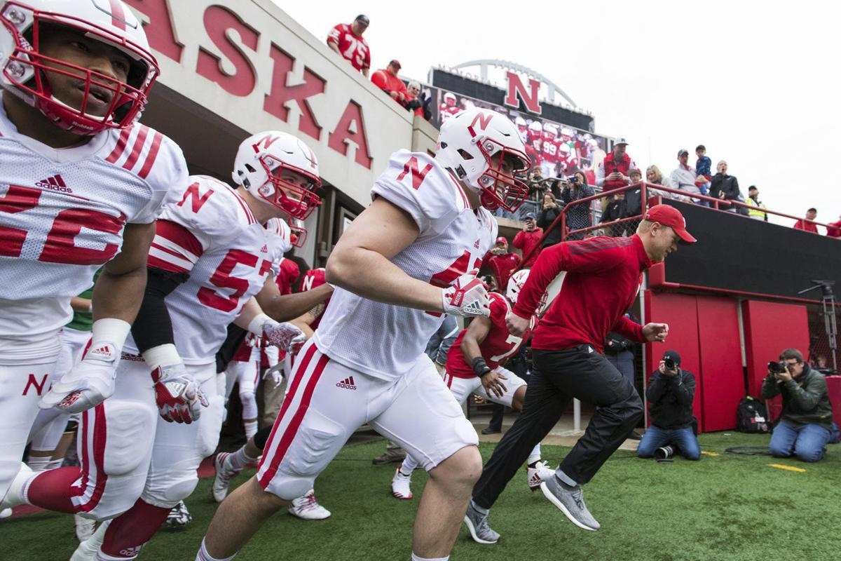 Quarterbacks look good during NU spring game | Huskers HQ ...