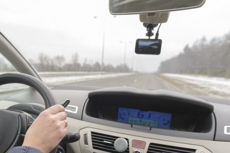 Basic dash cams capture the road ahead, while more advanced models also record inside the car.