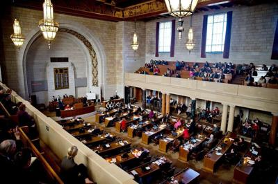 FILE PHOTO: Nebraska Senate Floor