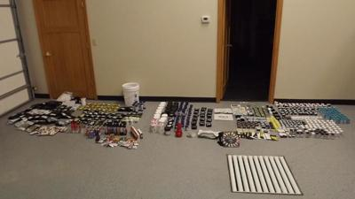 THC products seized