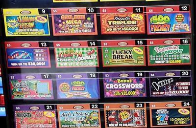 Nebraska Lottery scratch tickets