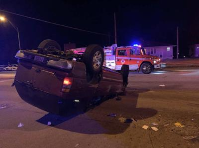 Vehicle rollover, January 20, 2020