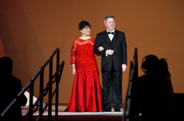Sally Ganem and Dave Heineman