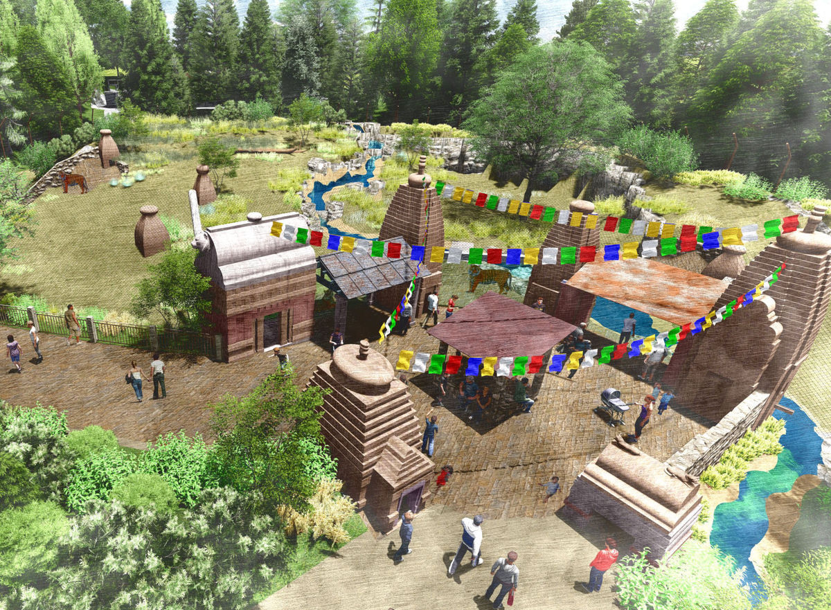 Omaha zoo announces details of new 20 million Asian Highlands