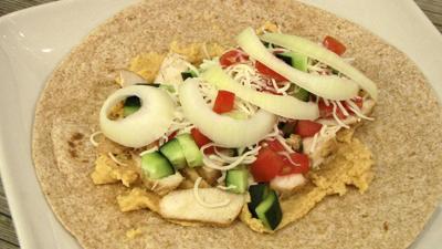 Chicken Mediterranean Wrap