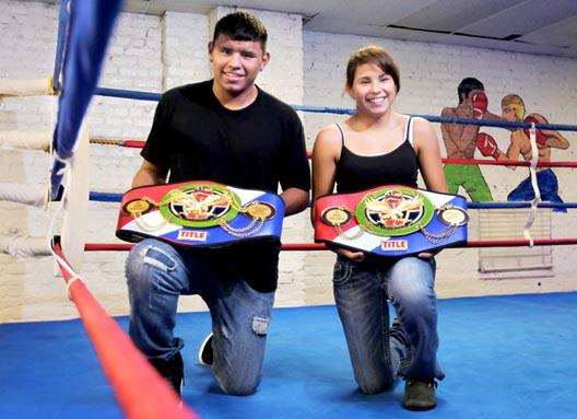 G i siblings win bouts in manhattan sports for Charity motors on grand river