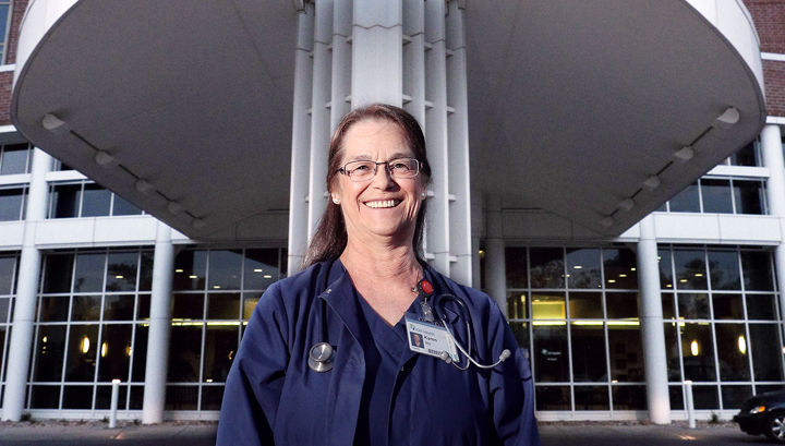 Iowa native currently only traveling nurse at CHI Health ...
