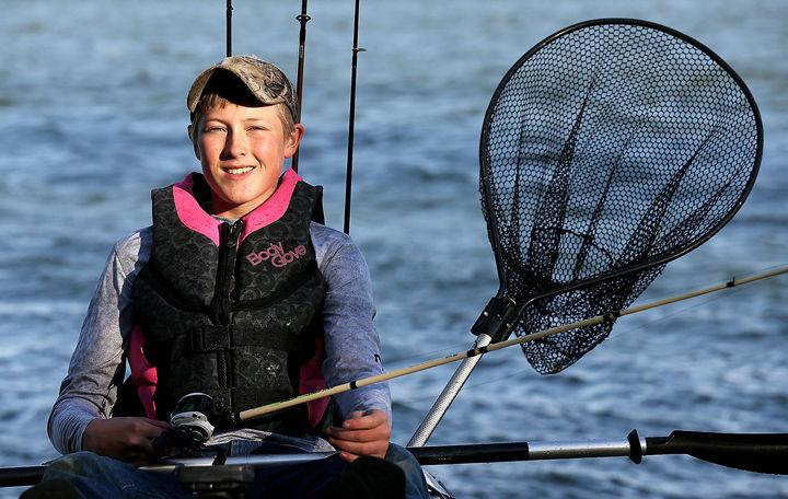 Fishing and outdoors have become a lifestyle for Aurora 15-year-old