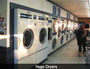 Huge dryers