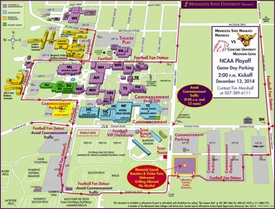 Campus To Be Buzzing With Msu Graduation Game Mankato News