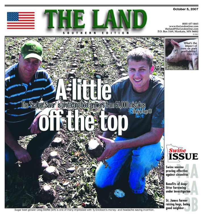 Cover story: Electronics to the rescue for beet farmers