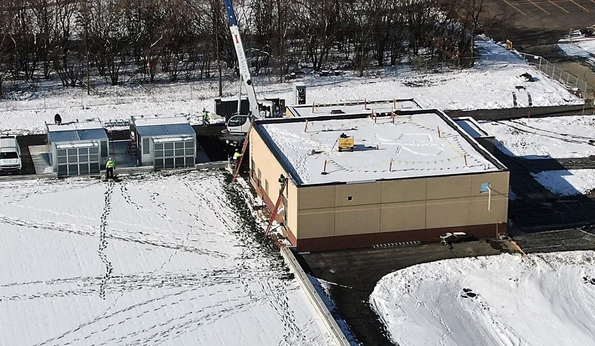 MSU Sports Dome construction 2