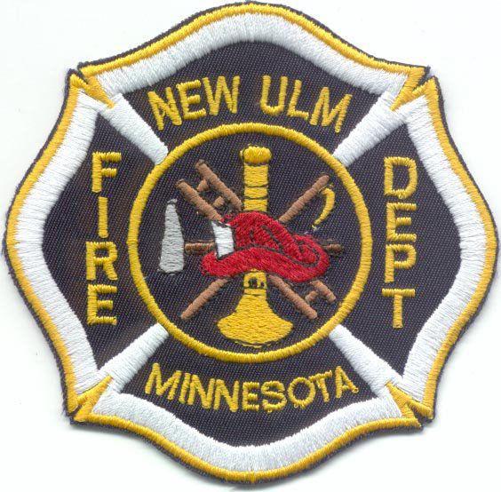 New Ulm Fire Department logo