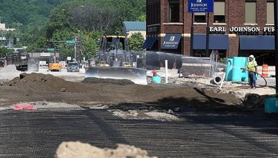 Cherry Street construction