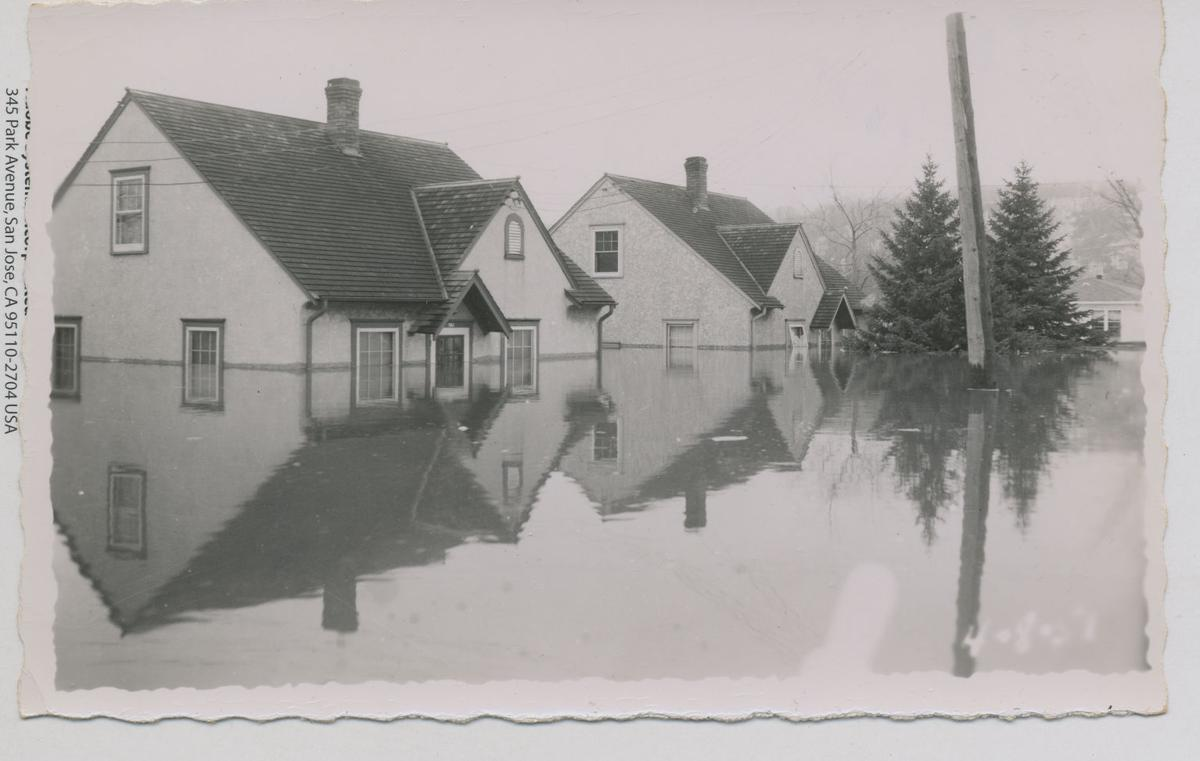 North Mankato faced fierce flood in '51