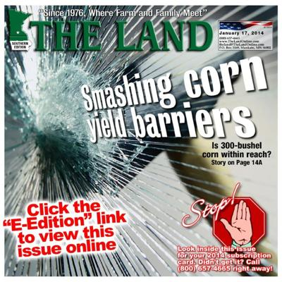 The Land's January 17, 2014 issue