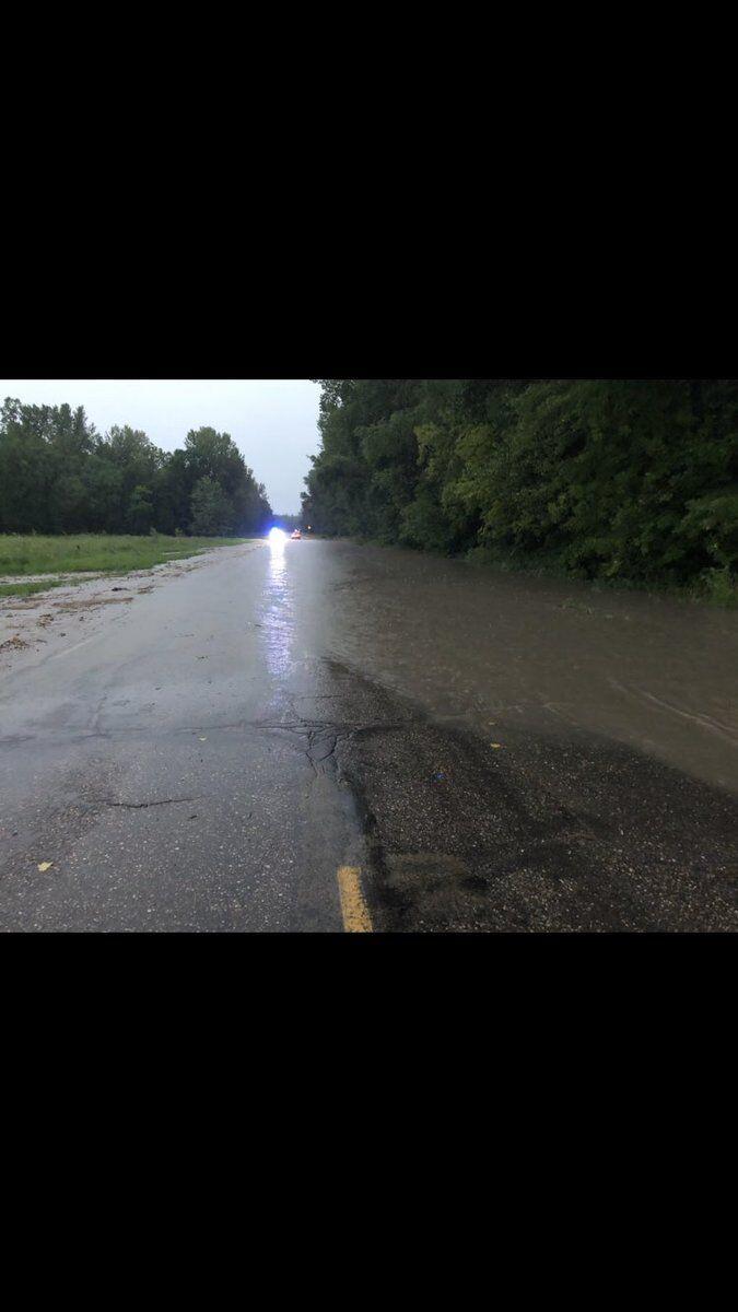 Highway 93 flooding