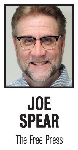Joe Spear column mug