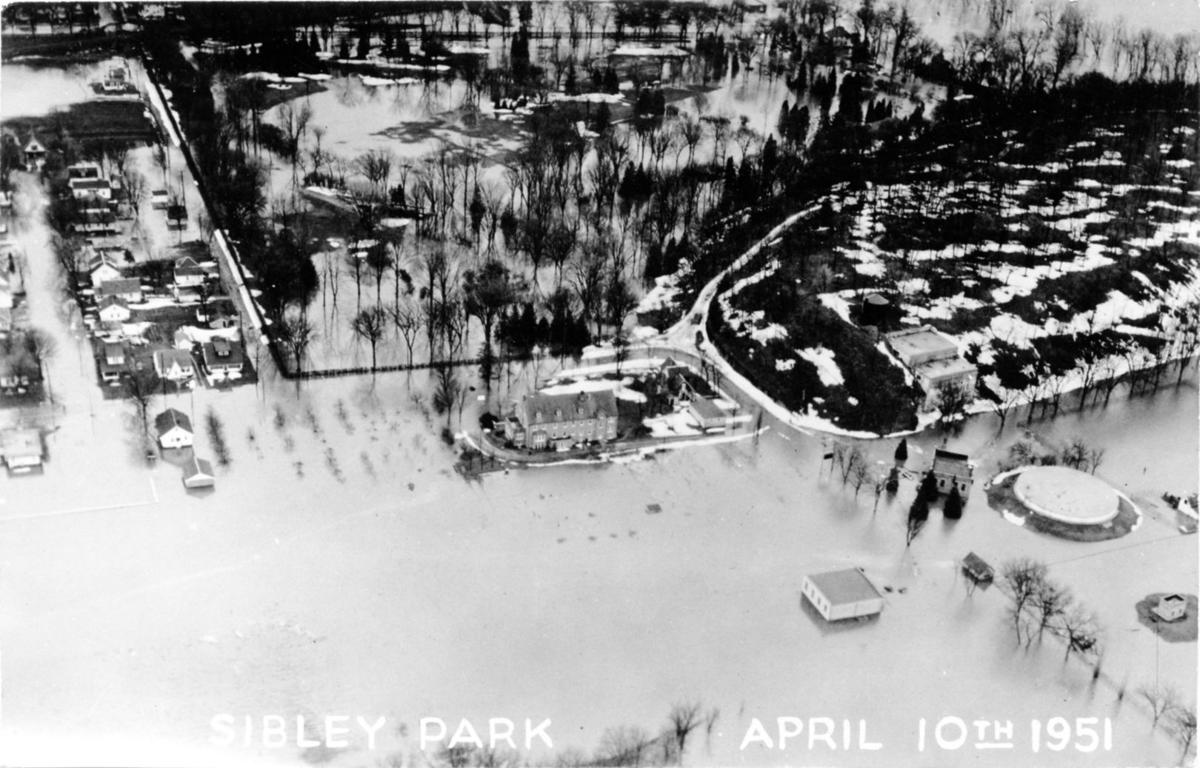 Sibley Park was overwhelmed by '51 flood