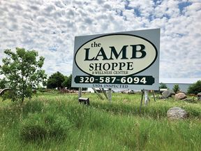 Lamb Shoppe sign