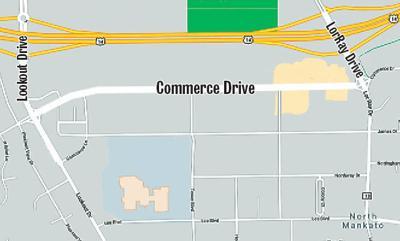 Commerce Drive map