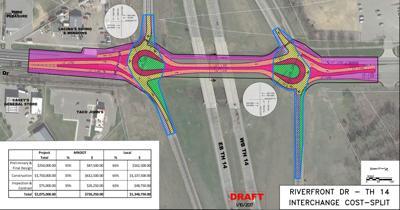 Riverfront Drive roundabout