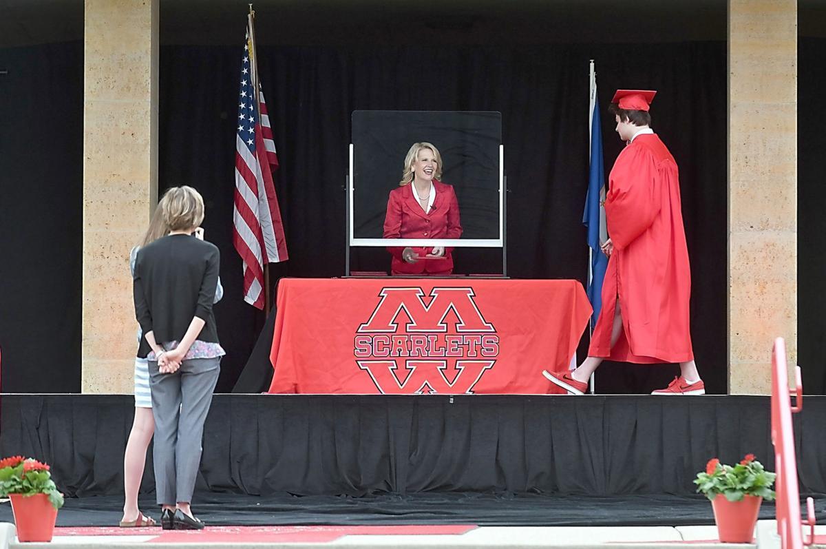 Mankato West graduation 1